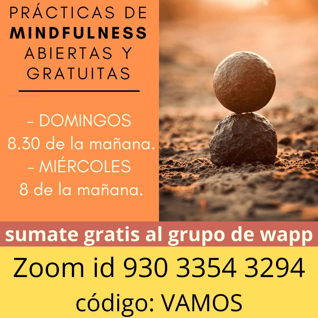 Espacio gratuito de prácticas de mindfulness de 30 minutos