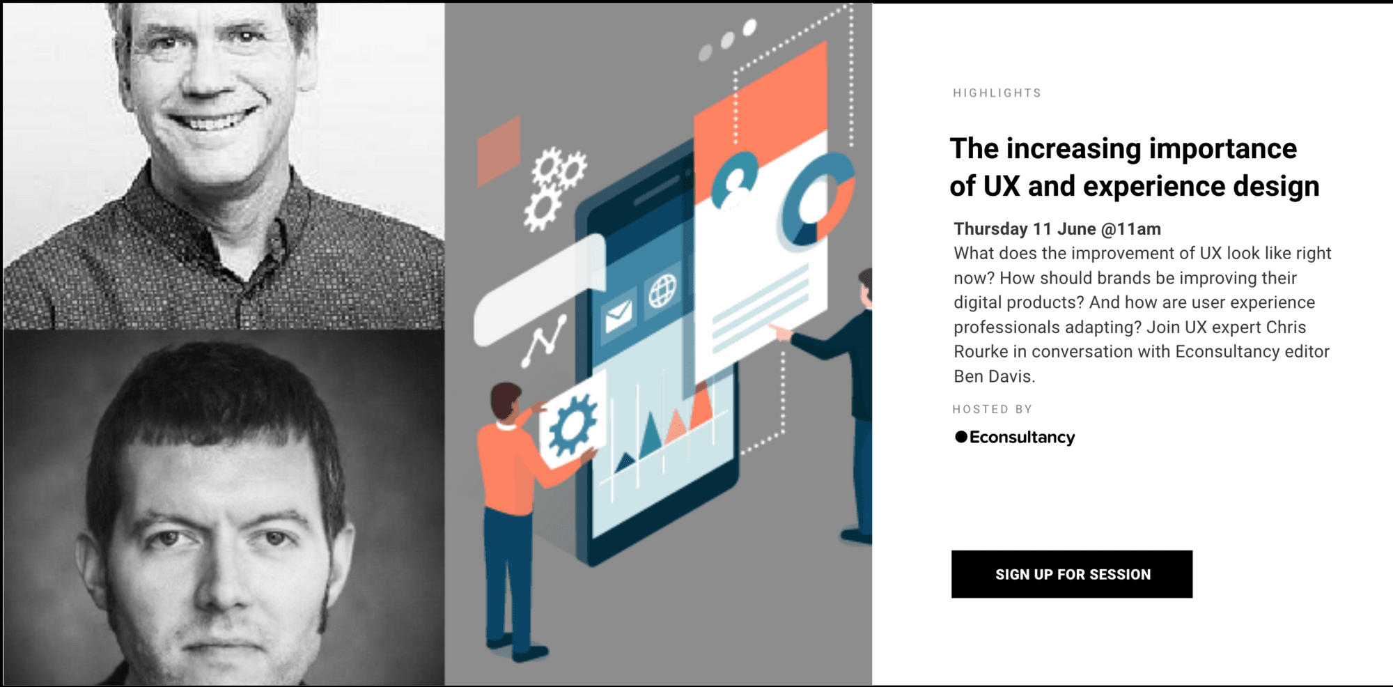 Econsultancy webinar series The Lowdown