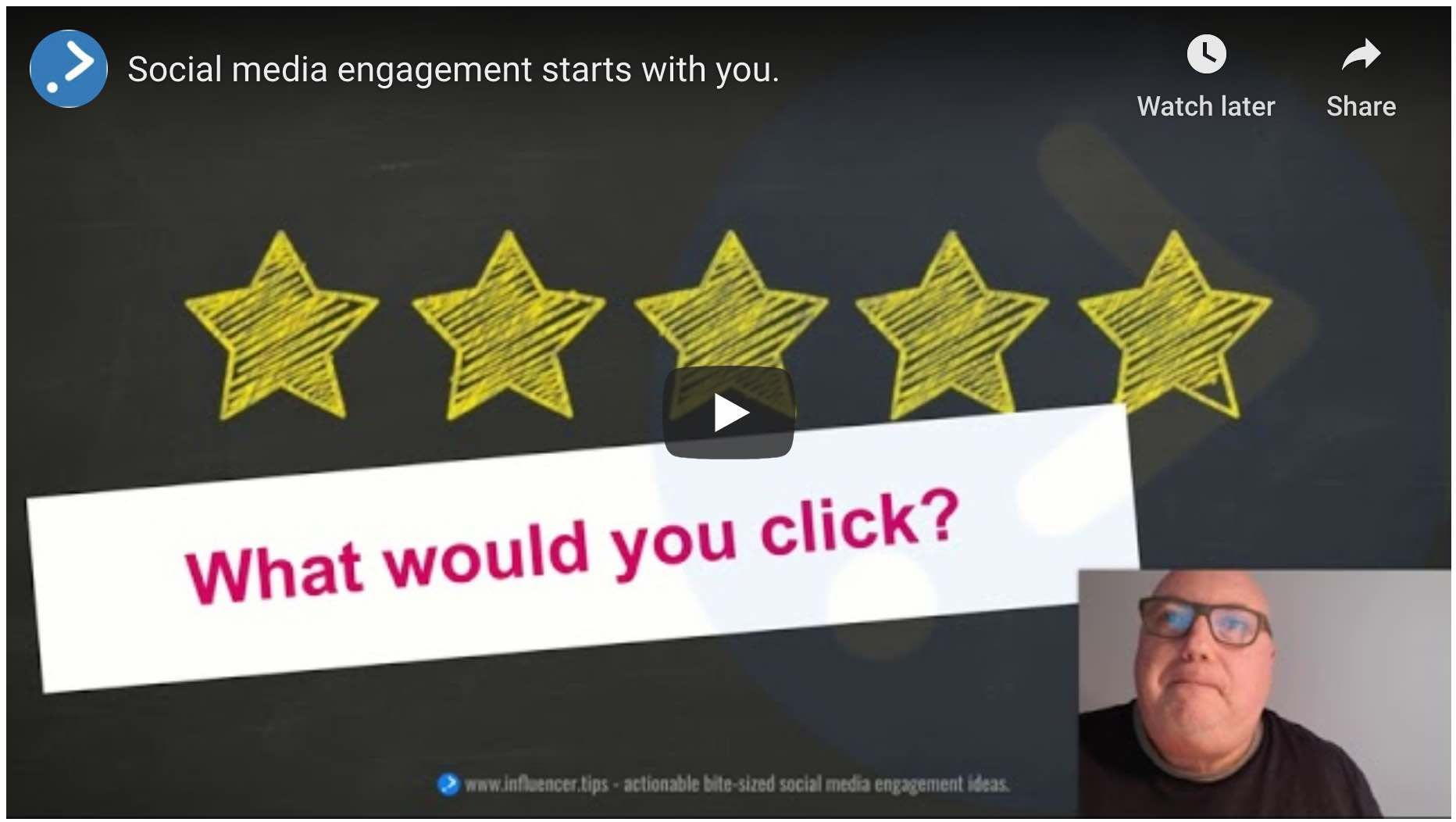 "Get started with ""social media engagement starts with you"" workshop"
