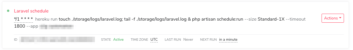 Sweet! Laravel jobs run properly and logs are visible!