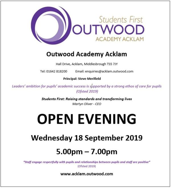 Home - Outwood Academy Acklam