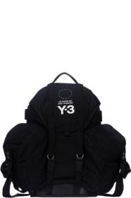 66787a7b5e8 Y-3 - Utility Backpack - Black