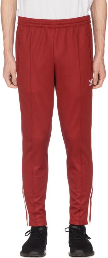 46d30a221305 adidas Originals  Beckenbauer Track Pants - Rust Red