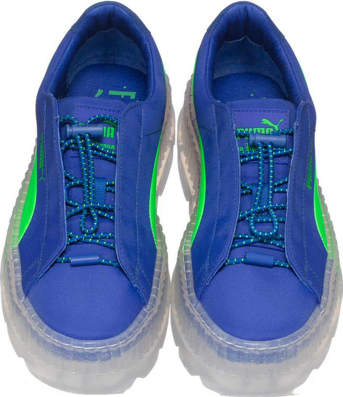 best loved ed161 f42a5 Puma - Cleated Creeper Surf - Dazzling Blue/Green Gecko