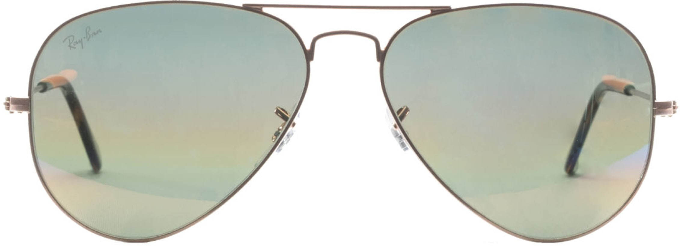 9775ee2008 Ray-Ban. Aviator Mineral Flash Sunglasses - Bronze Copper Gold Rainbow Flash