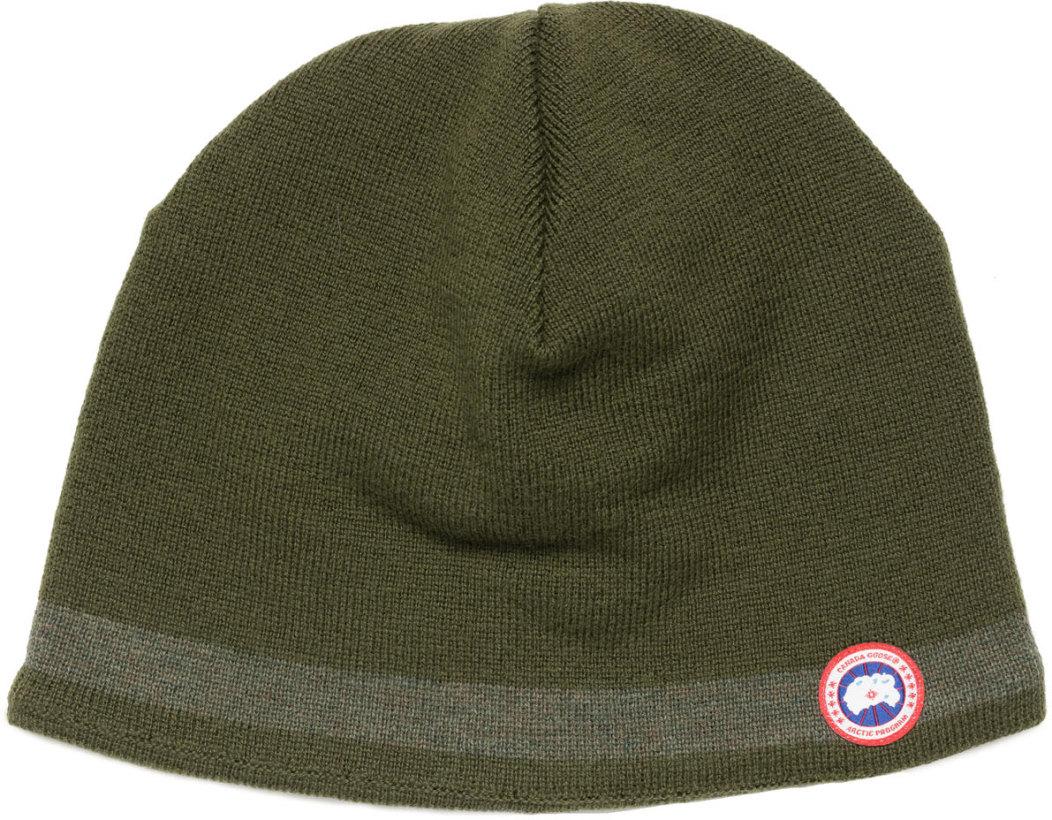f94ee050e72 Canada Goose Merino Wool Beanie Green