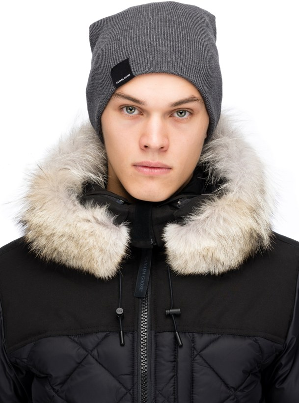 Canada Goose  Classic Merino Wool Toque - Iron Grey  2d7ffcb045e4