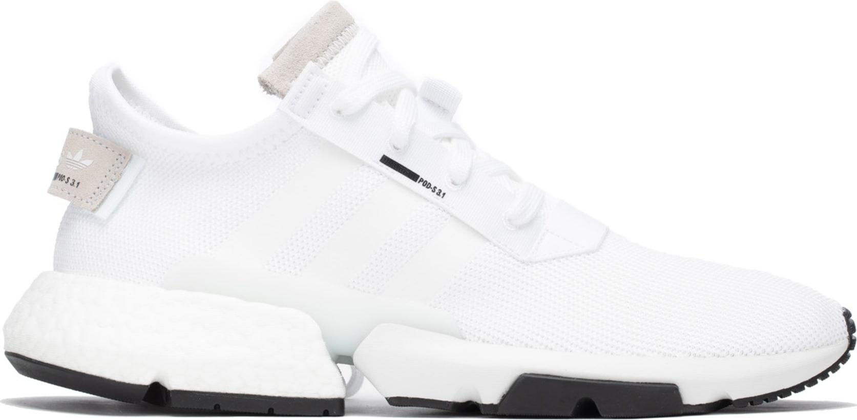adidas Originals  Pod-S3.1 - Cloud White Cloud White Core Black ... d04cb1407