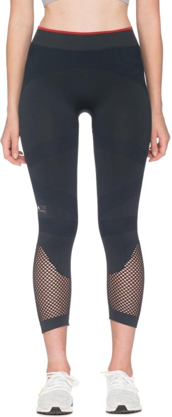 adidas by Stella McCartney  Train Seamless 3 4 Tights - Night Grey ... 68a31701700