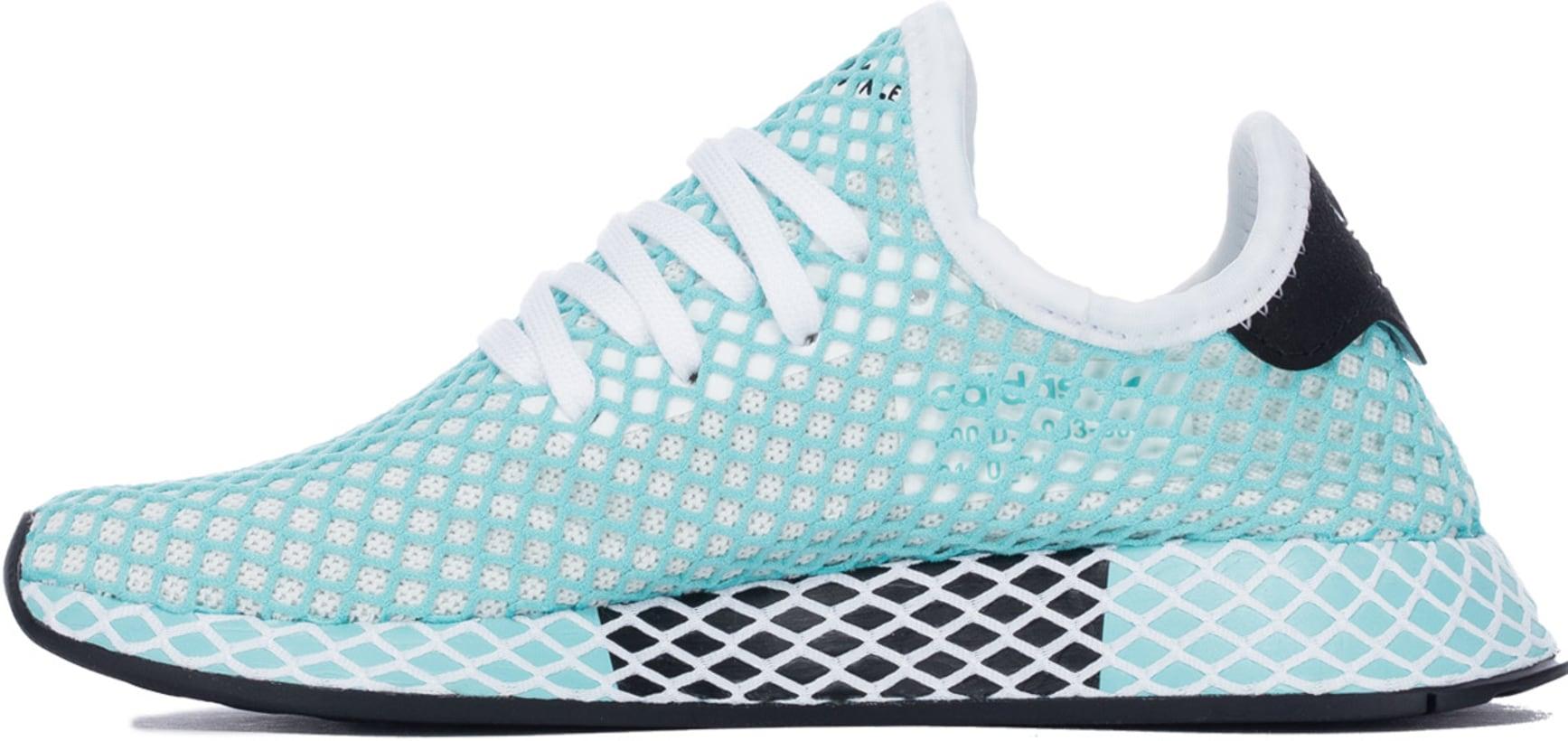 finest selection d3ff5 87b77 adidas Originals Deerupt Runner Parley - Footwear WhiteFootwear  WhiteBlue Spirit  Influence U