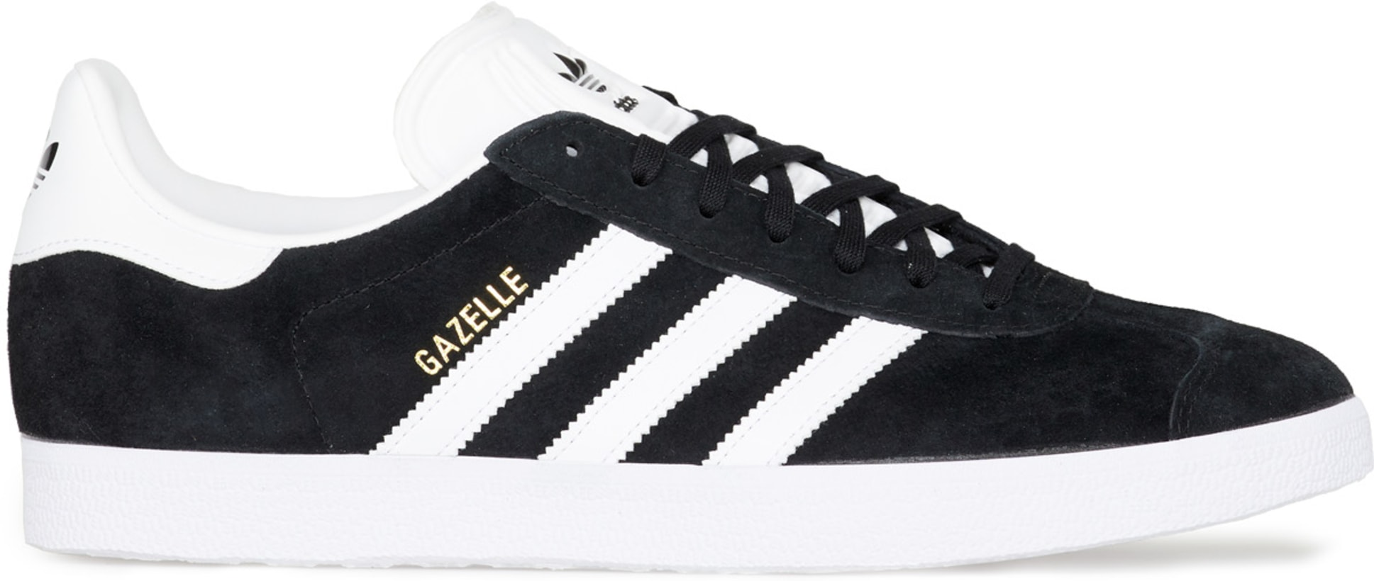8090f75e215 adidas Originals  Gazelle - Core Black White Gold Metallic
