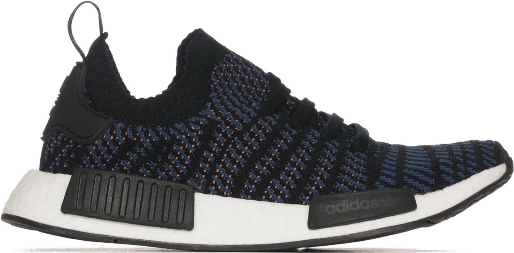 separation shoes 66dc2 7b68a adidas Originals. NMD R1 STLT Primeknit - Core BlackAsh PinkNoble Indigo