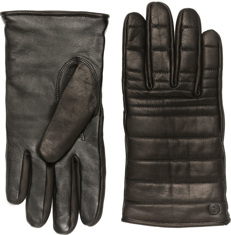 Canada Goose Black Label Quilted Luxe Gloves Black