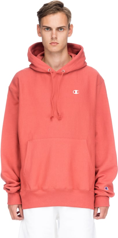 bf755b9644cf Champion  Reverse Weave Pullover Hoodie - Picante Pink