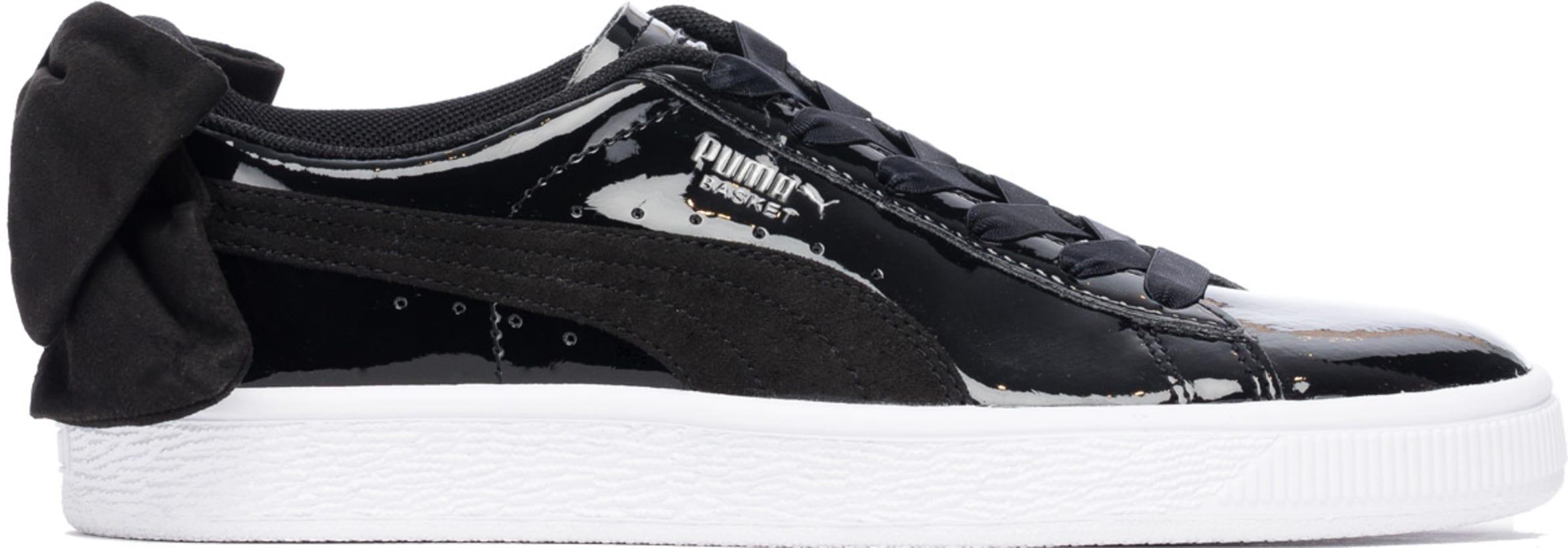 size 40 fe7b1 89c64 Puma - Basket Bow - Black/Black