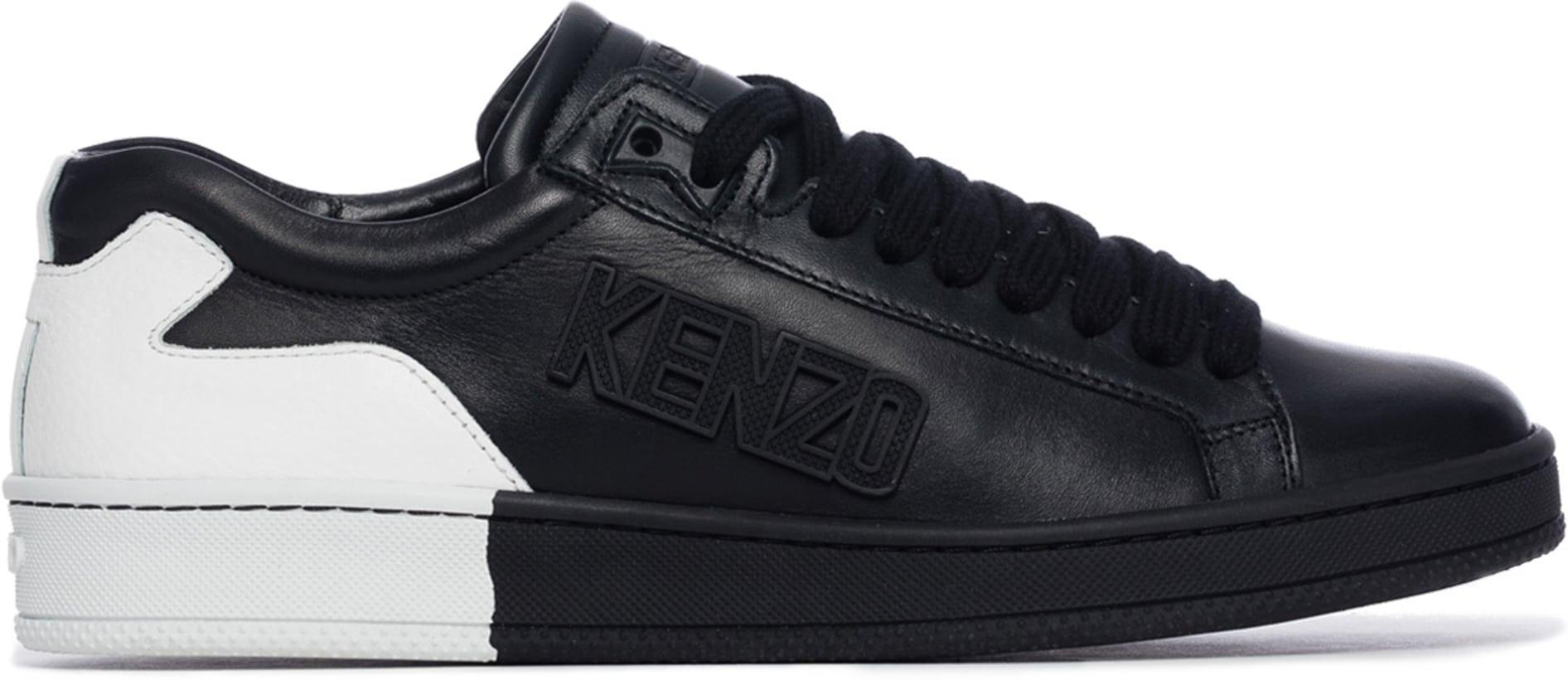 Kenzo Tennix Basket Bicolor Black