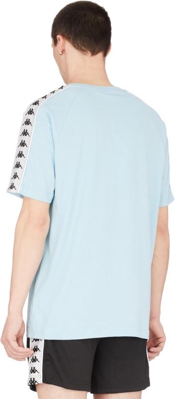 8e891fc45c Kappa - 222 Banda Coen T-Shirt - Azure/Grey Silver/Black