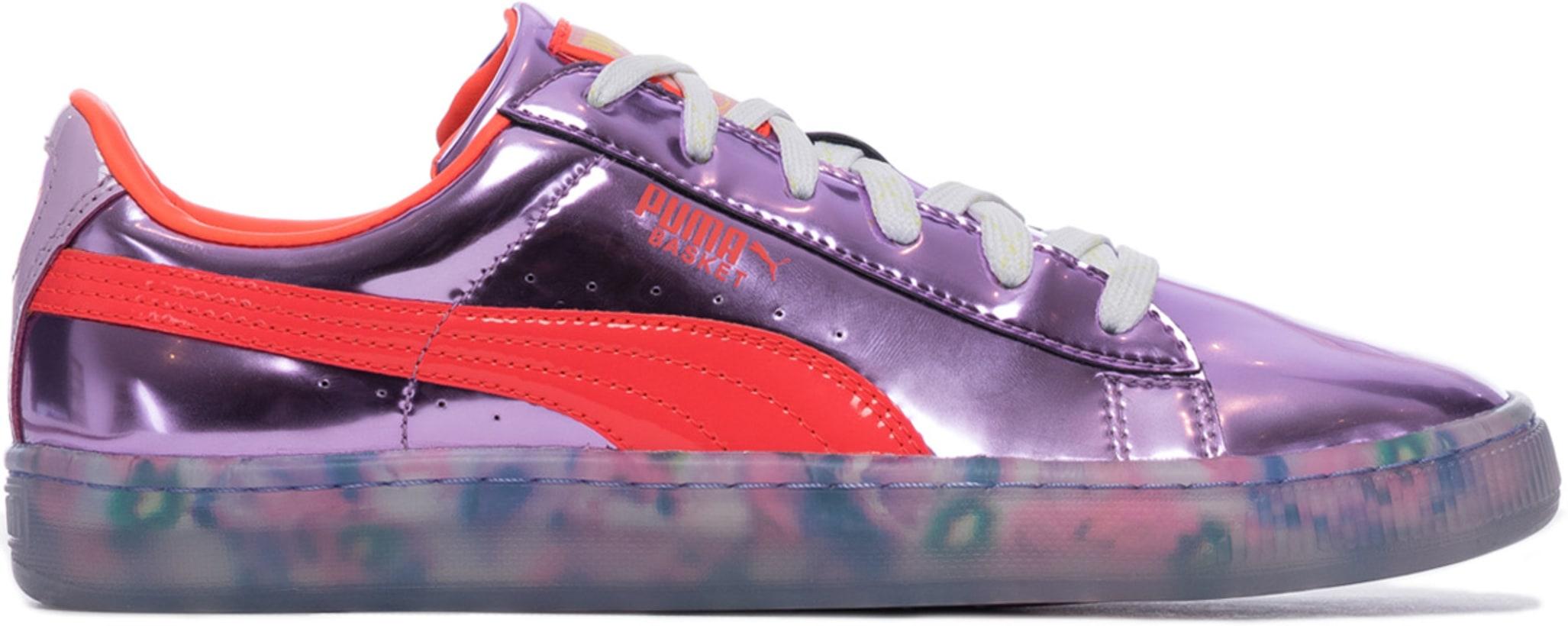 138a52dc38 Puma: Basket Candy Princess - Metallic Pink/Fiery Coral | influenceu