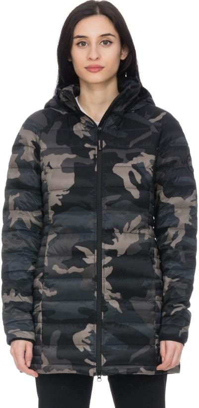 c8718b2b65baa Canada Goose: Black Label Brookvale Hooded Coat - Black Classic Camo ...