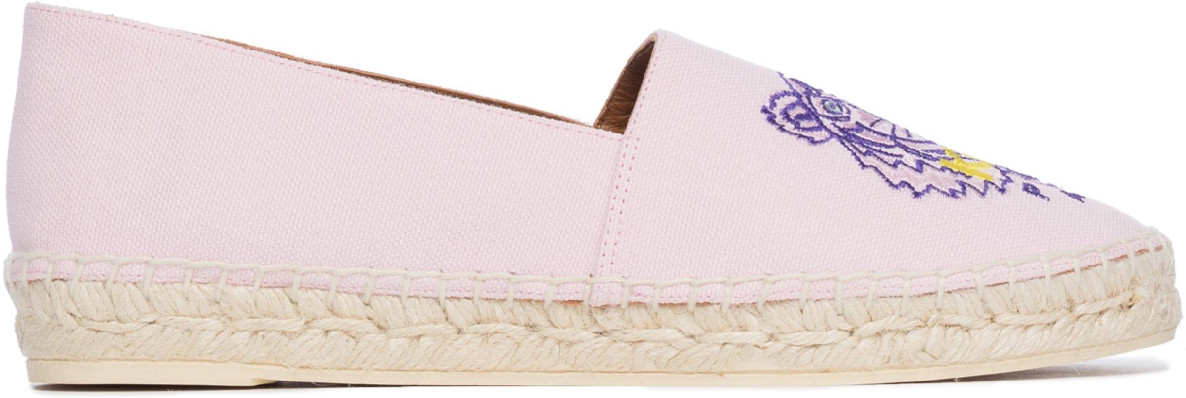 960982349 Kenzo: Tiger Espadrilles - Pink Flamingo   influenceu