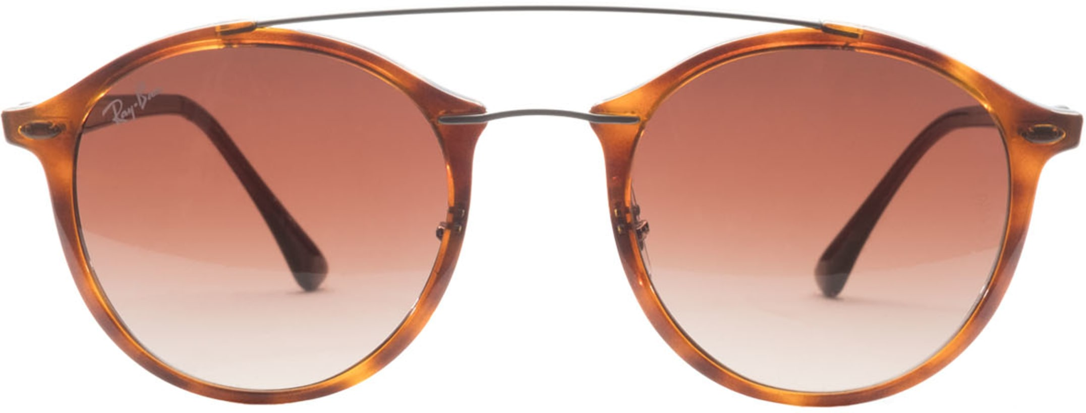 6ad3eb1b961b1 Ray-Ban  Round Light Ray Nylon Sunglasses - Tortoise Brown Brown ...