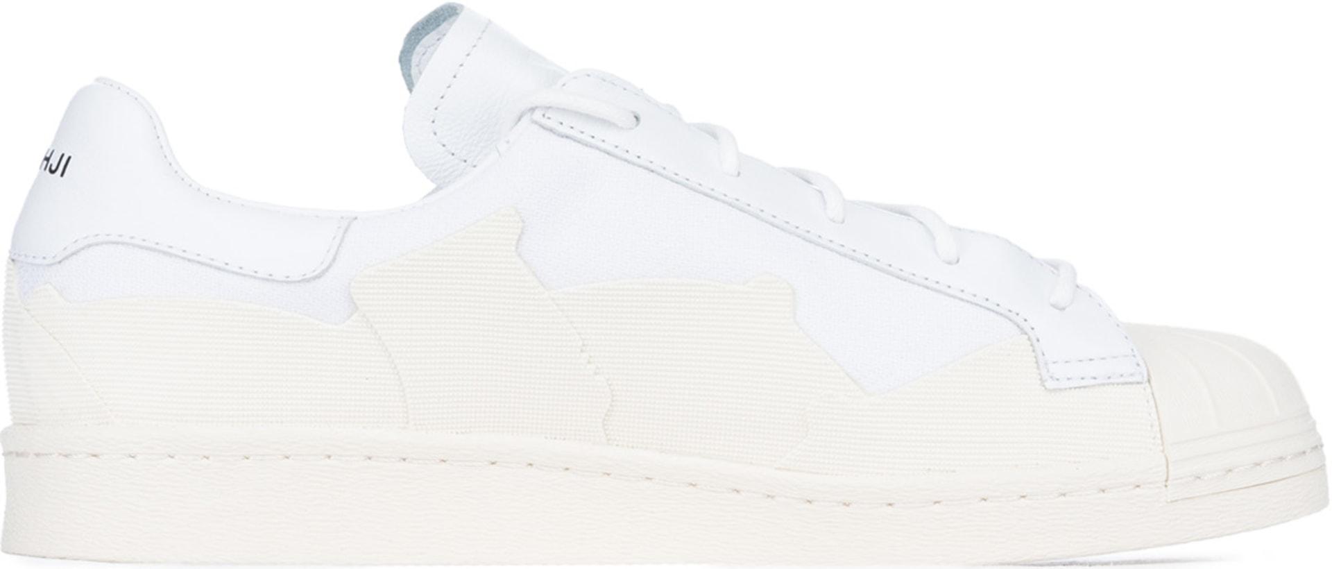 6c7aea9d298 Y-3  Super Takusan - Chaussure Blanc Blanc Cassé
