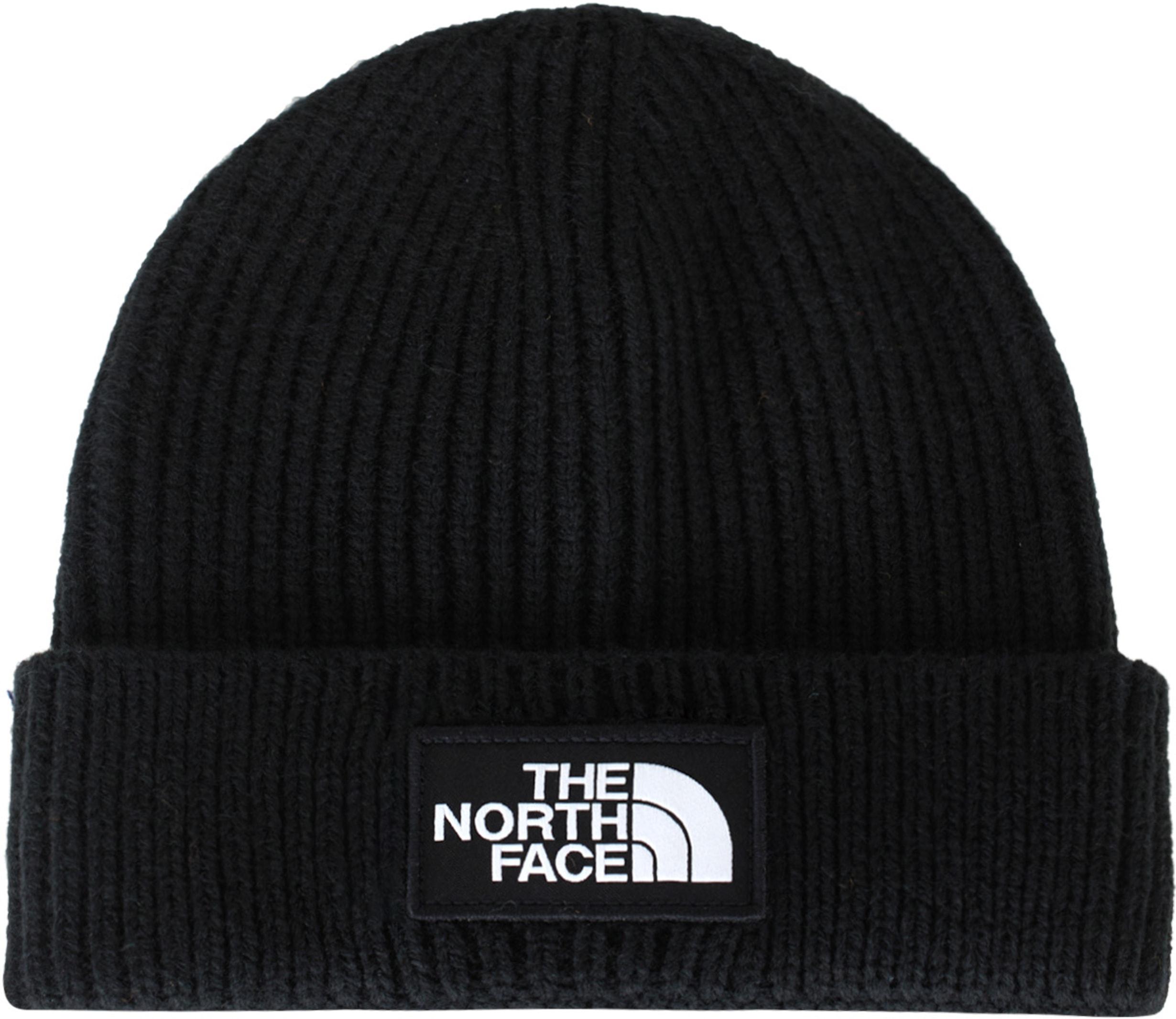 8e0fca3a824 the North Face  Logo Box Cuffed Beanie - Black