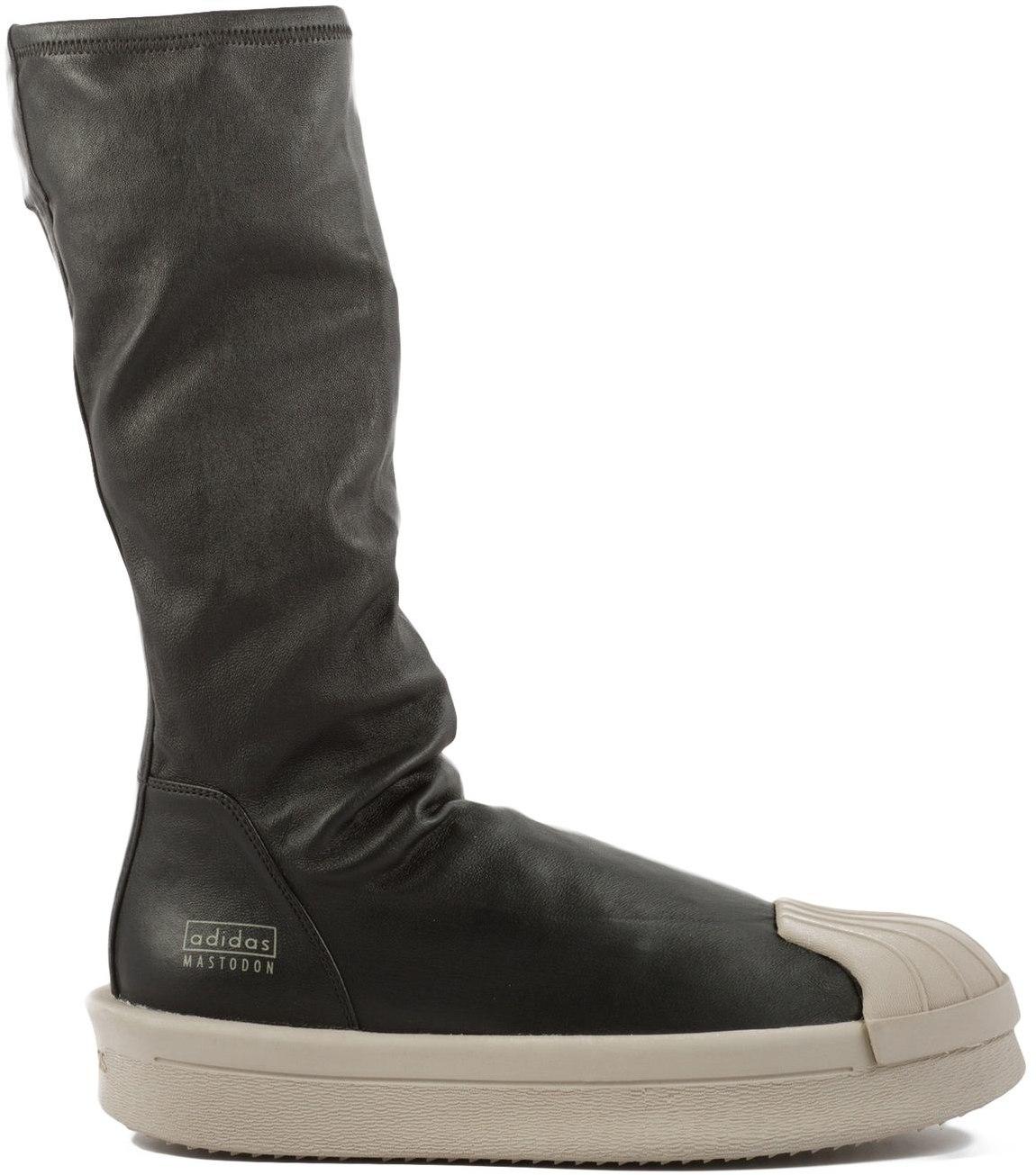 SHOP Unisex - ADIDAS by RICK OWENS: RO Mastodon Stretch Boots - Black -  Footwear, Sneakers | INFLUENCE U