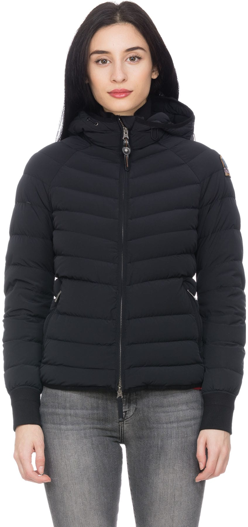 SHOP Women - PARAJUMPERS: Alicia Light Weight Varsity Jacket - Black -  Coats & Jackets, Lightweight | INFLUENCE U