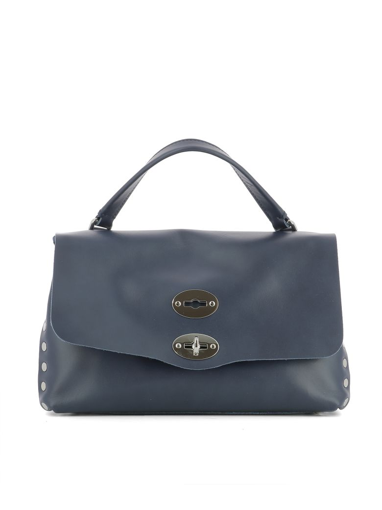 Top Handle Handbag On Sale, Postina S, Light Brown, Leather, 2017, one size Zanellato