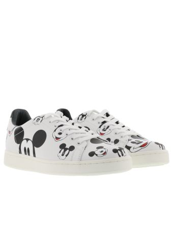 M.o.a. Mickey Mouse Faces All Over Sneakers