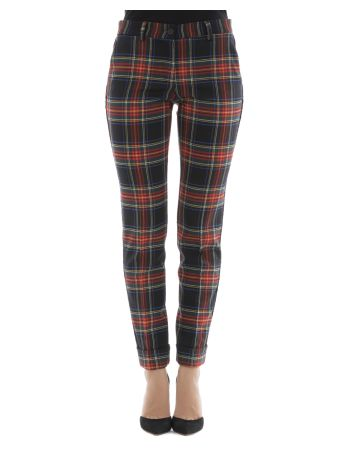 Multicolor Wool Pants