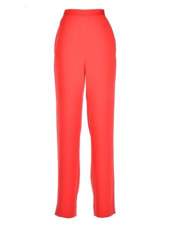 Diane Von Furstenberg Plain Color Trousers