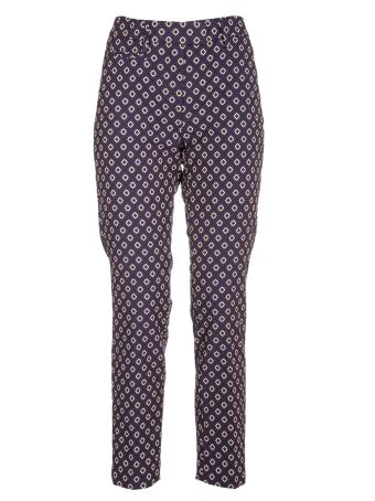 Dondup Printed Slim-fit Trousers