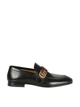 Gucci Gucci Gg Web Loafers
