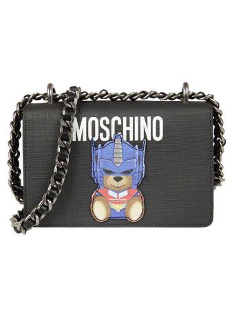 Moschino Transformer Teddy Shoulder Bag