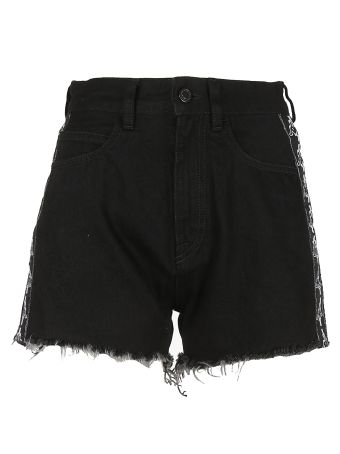 Marcelo Burlon Fringed Shorts