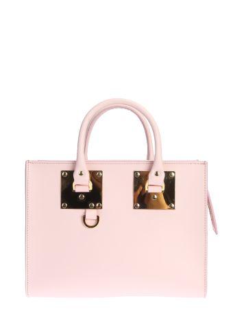 Medium Albion Box Tote Leather Bag