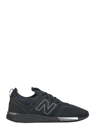 New Balance 247 Black And Blue Fabric Sneakers
