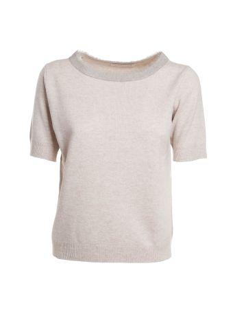 Fabiana Filippi Short Sleeves Sweater
