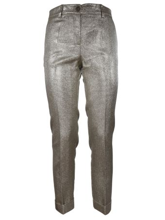 Parosh Lurex Trousers