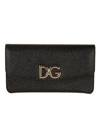 Dolce & Gabbana Textured Continental Wallet