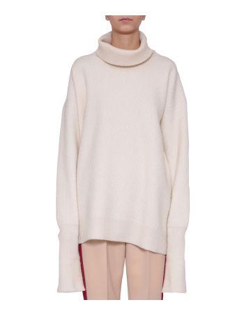 Maison Margiela Oversized Wool Turtleneck Sweater