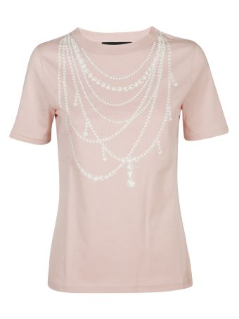 Boutique Moschino Pearls T-shirt