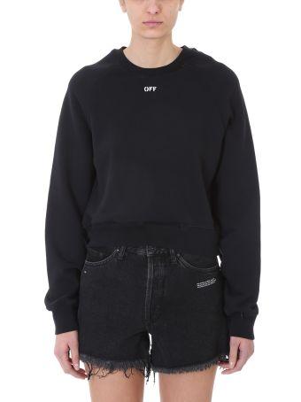 Off-White Off Decostrution Cut Out Sweatshirt