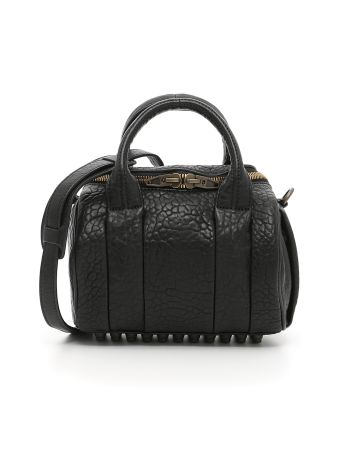 Mini Rockie Oyster Soft Pebble Leather Bag