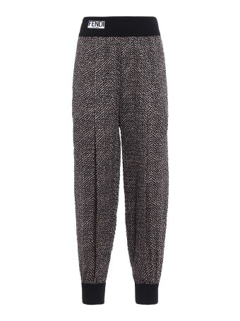 Fendi Pop Chevron Trousers
