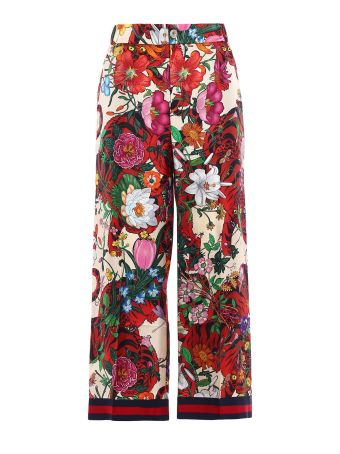 Gucci Flora Tiger Pants