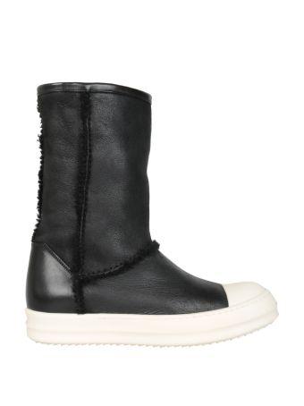 Rick Owens Shearling Boots
