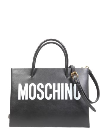 Shopping Bag With Logo Lettering